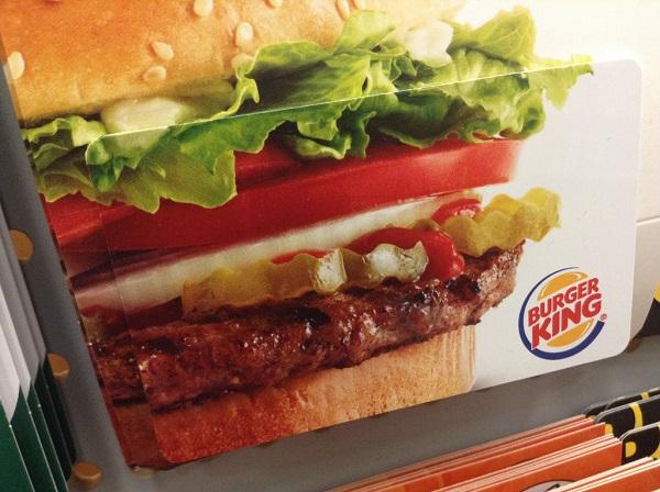 Burger King bruger