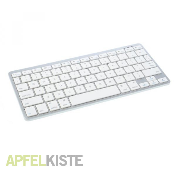 Universal Bluetooth Tastatur Slim Design im Alu Look