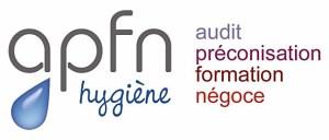logo - apfn hygiène - commercialisation de matériels innovants - propreté