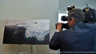 Thursday, March 22, 2018 The launch of the Water Action Decade held at the UN Deleg dining room, United Nations Headquarters, Manhattan NYC.
