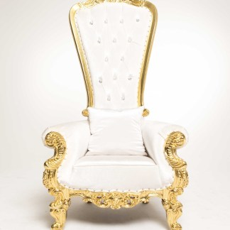 throne-chair-gold-and-white