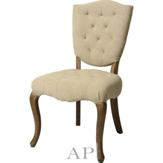 french-provincial-side-dining-bedroom-chair-oak-linen-cream