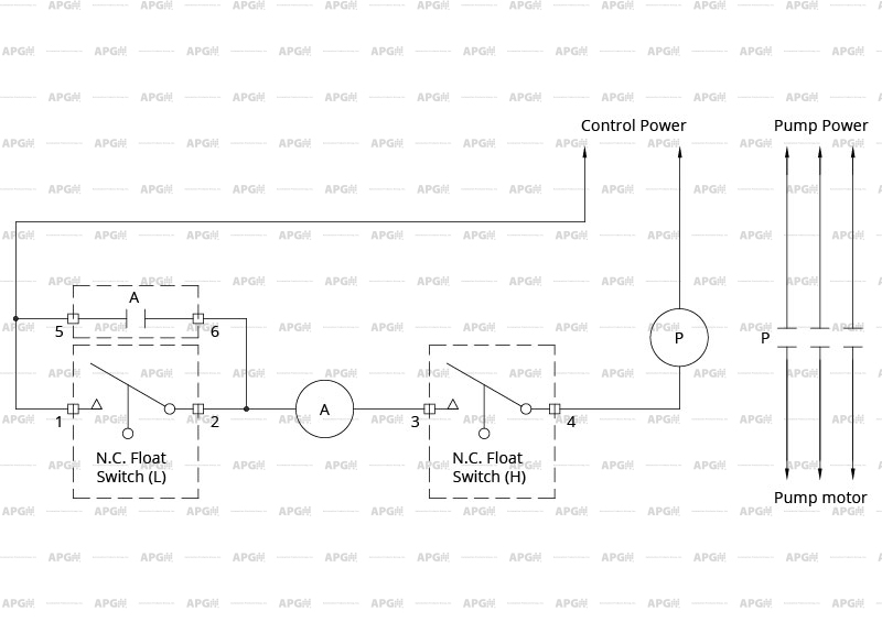 float switch wiring diagram 3 nc nc?resize=665%2C470&ssl=1 wiring diagram for sump pump switch the wiring diagram aquaguard float switch wiring diagram at gsmx.co