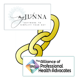 My Junna and APHA combined logos