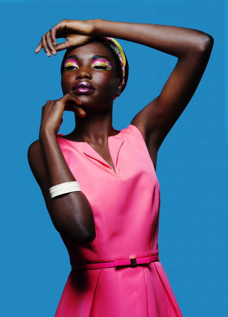 Stylish Wallpaper Girl This Fashion Editorial Is Packed With Color Inspiration