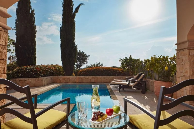 Private Pool Rooms in Cyprus Paphos  Aphrodite Hills