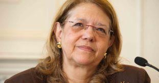 Un momento de la intervención de Elvira Rodríguez, presidenta de la CNMV, en el Curso de Verano de la APIE organizado en la UIMP.
