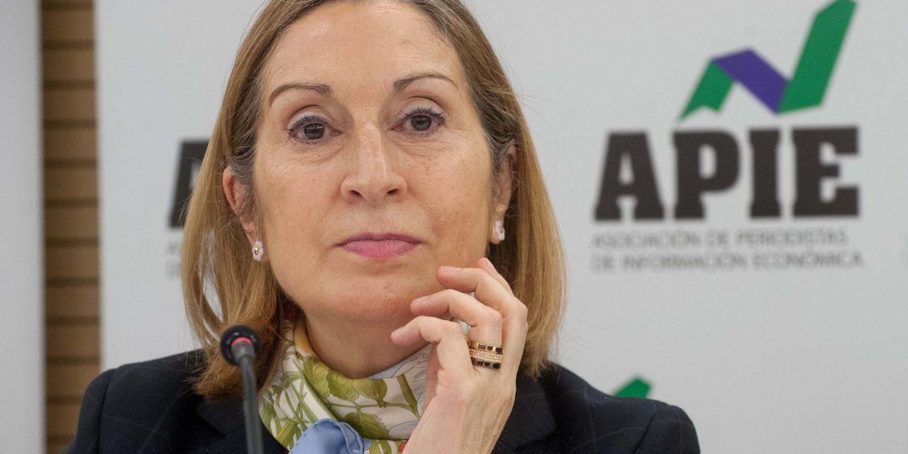 """Ana Pastor: """"Las críticas al AVE nos han hecho un favor"""""""