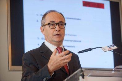 Fernando Restoy, subgobernador del Banco de España, durante su intervención en el Curso de Verano de la APIE en la Universidad Internacional Menéndez Pelayo.
