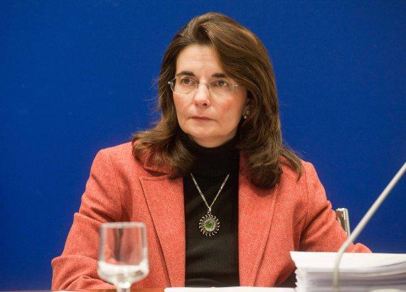 Ana Herráez, responsable de Mercado de Trabajo del Departamento de Relaciones Laborales de CEOE, en un momento de la jornada sobre legislación laboral organizada conjuntamente con APIE.
