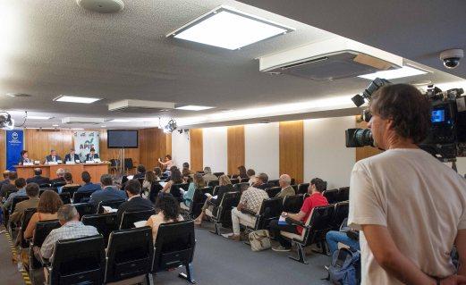 Un momento de la presentación del Informe sobre la Empresa Mediana Española 2016, organizada por el Círculo de Empresarios con la colaboración de la Asociación de Periodistas de Información Económica (APIE).