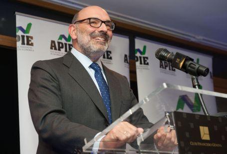 Fernando Abril-Martorell, presidente de Indra, ganador de uno de los accésit al premio Secante 2016.