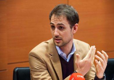 Jaime Rodríguez, General Manager para España y Portugal de BlaBlaCar, durante el debate sobre economía colaborativa organizado por APIE en su XXX Curso de Economía para Periodistas.