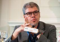 Unai Sordo, Secretario general de CC OO, durante su intervención en el Curso de Economía organizado por la APIE en la Universidad Internacional Menéndez Pelayo de Santander.