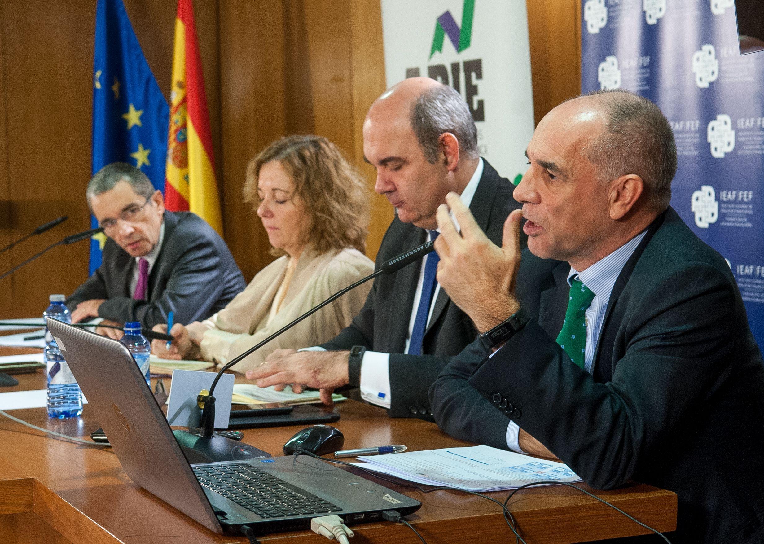 Ángel Bergés, Vicepresidente de AFI, en las II Jornadas sobre Resolución Bancaria organizadas por IEAF-FEF y APIE.