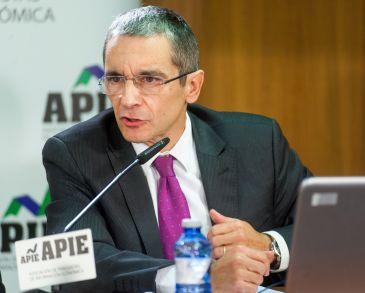 Joaquín Maudos, Director Adjunto de Investigación del IVIE, en las II Jornadas sobre Resolución Bancaria organizadas por IEAF-FEF y APIE.