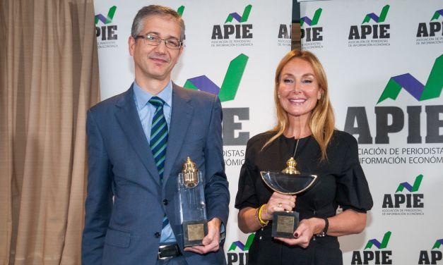 Pablo Hernández de Cos y Esther Alcocer Koplowitz, Premios Tintero y Secante 2019