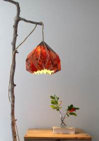 Easy DIY Pendant Light with Beautiful Origami Lampshade ...