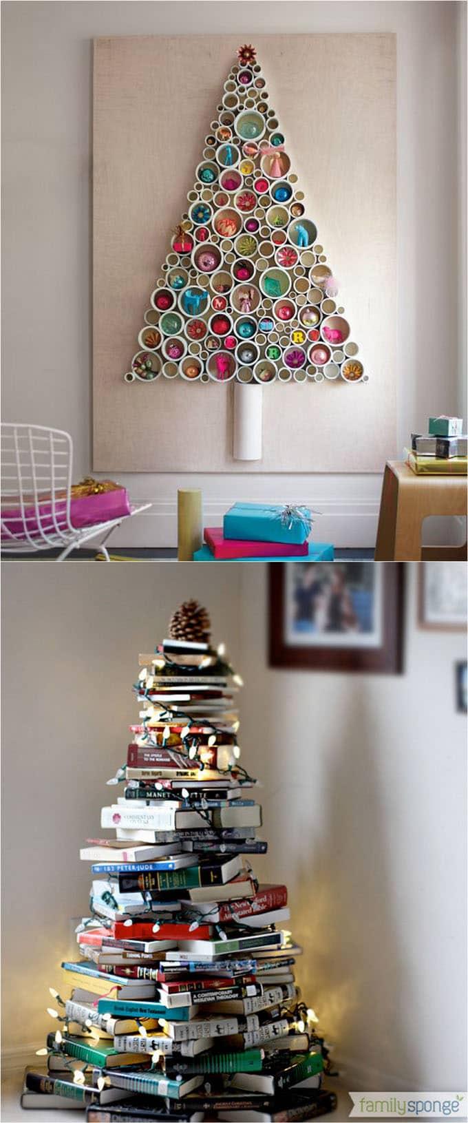 18 creative Christmas trees apieceofrainbow 1 - 42 Gorgeous Christmas Tree Decorating Ideas { & Best Tutorials!}