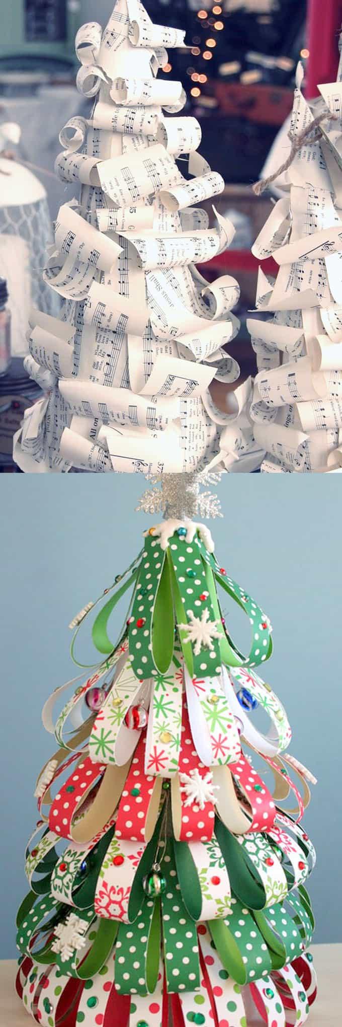 Book Christmas Tree Craft
