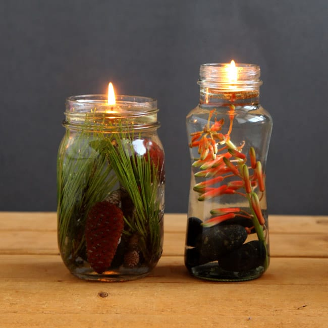 Magical Mason Jar Oil Lamp ( DIY Oil Candles in 2 minutes