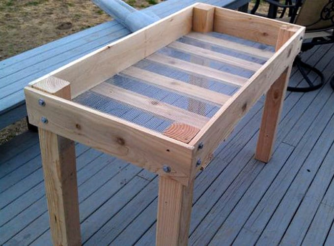 How Build Raised Container Garden Box