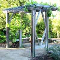 DIY Grape Arbor ( Simple DIY Pergola ): Free Building Plan ...