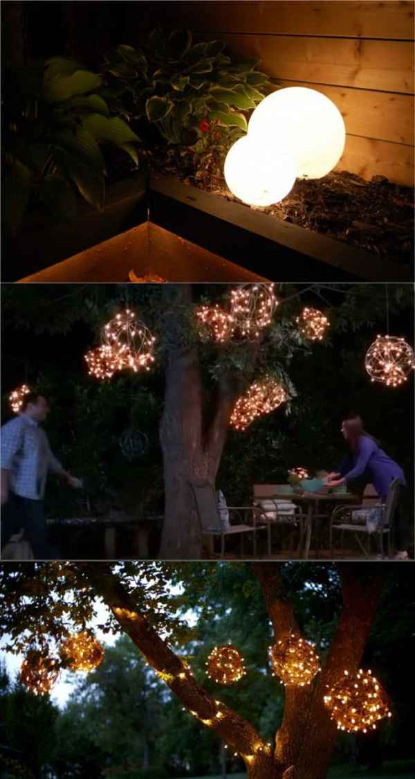 28 Stunning DIY Outdoor Lighting Ideas amp So Easy
