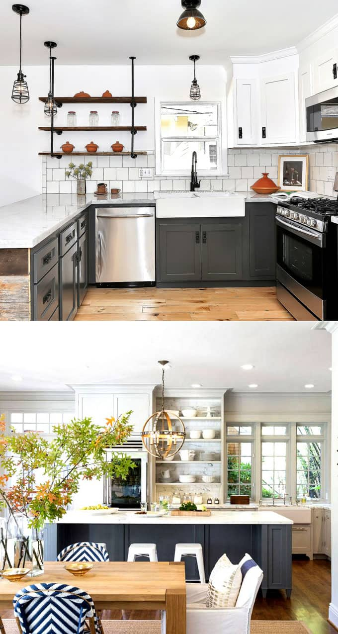 colors of kitchen cabinets outdoor kitchens on a budget 25 gorgeous cabinet paint color combos piece beautiful for apieceofrainbowblog