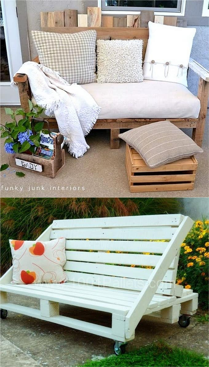 diy pallet living room furniture wall colors for with brown 12 easy sofas and coffee tables to in one afternoon a sofa table apieceofrainbow 3