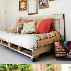 Diy Daybed Sofas Fabric For Sofa Covers Uk 12 Easy Pallet And Coffee Tables To In One Afternoon A Boho