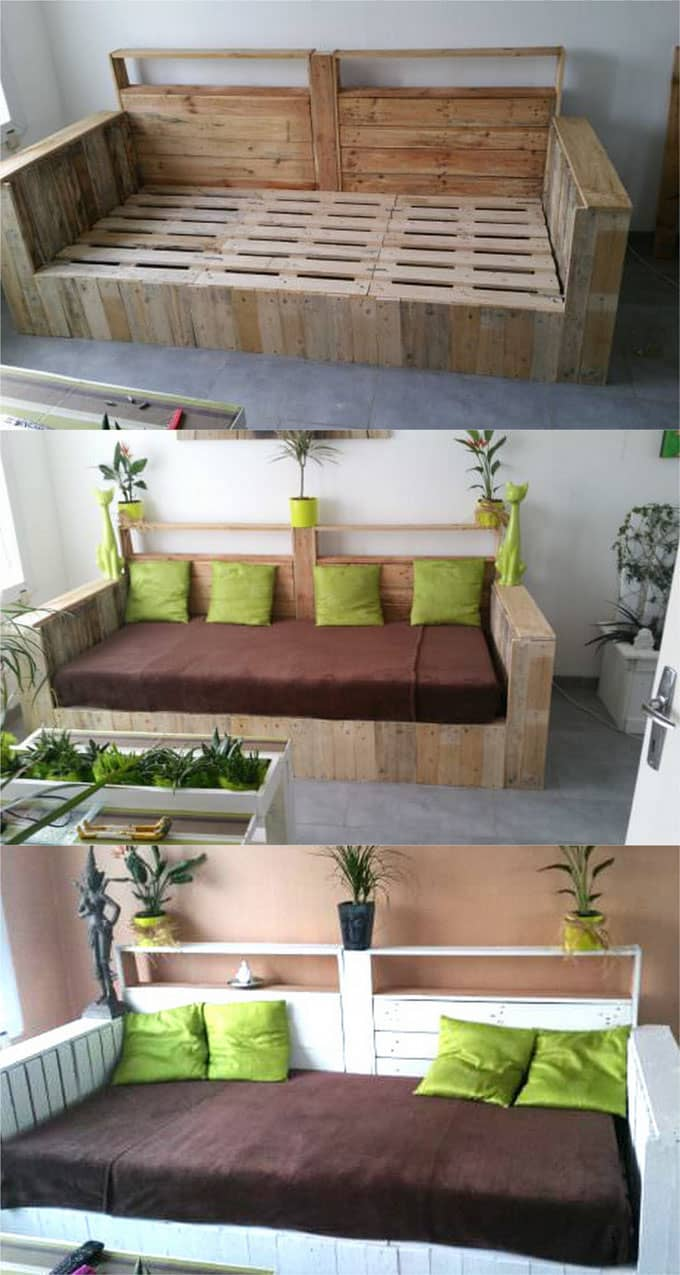 diy sofa from pallets togo toronto 12 easy pallet sofas and coffee tables to in one afternoon a table apieceofrainbow 5
