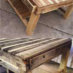 Diy Sofa From Pallets Black Sectional Craigslist 12 Easy Pallet Sofas And Coffee Tables To In One Afternoon A Table Apieceofrainbow 6