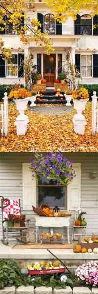 25 Splendid Front Door DIY Fall Decorations - Page 2 of 3 ...