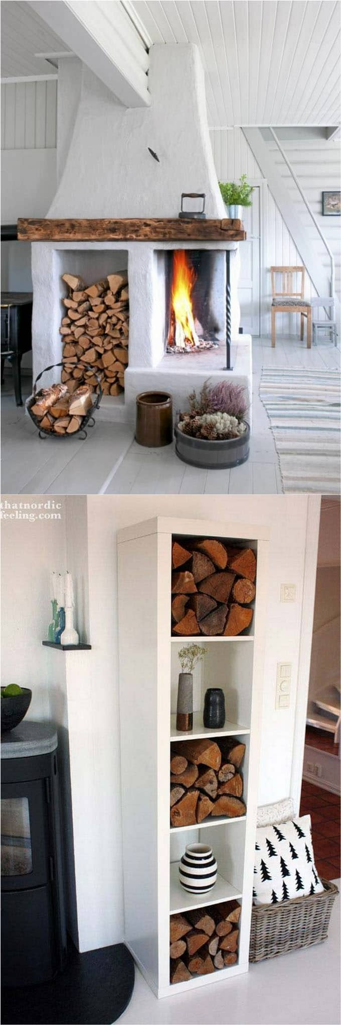 living room firewood holder small kitchen dining design 15 amazing rack best storage ideas a piece of rainbow apieceofrainbow 4