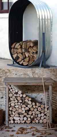 15 Amazing Firewood Rack & Best Storage Ideas! - Page 2 of ...
