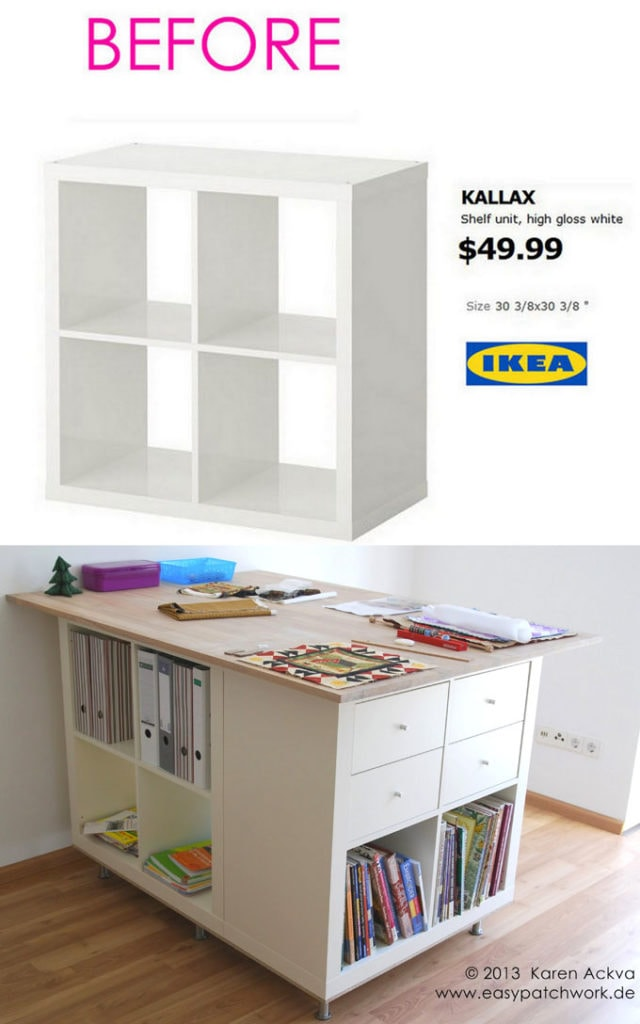 Easy Custom Furniture With 18 Amazing Ikea Hacks A Piece Of Rainbow