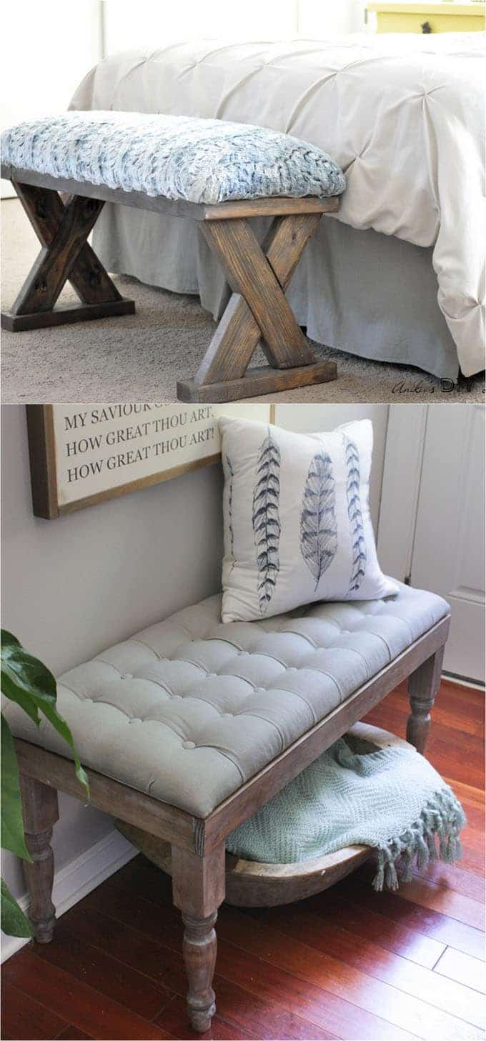 21 Gorgeous Easy Diy Benches Beginner Friendly Tutorials