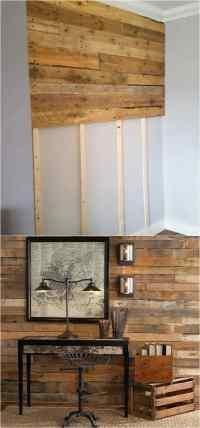Shiplap Wall and Pallet Wall: 30 Beautiful DIY Wood Wall