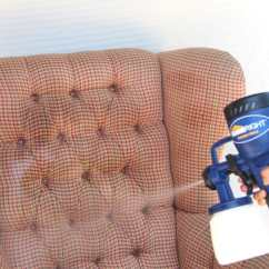 How To Clean Stains Off Your Sofa Fun Furniture Flip Open Disney Princess Pink Paint Upholstery: Old Fabric Chair Gets Beautiful ...