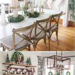 Decorating Kitchen Rv Faucets 100 Favorite Christmas Ideas For Every Room In Your Home Mini Wreaths And Tabletop Trees Are Great Shelves Dining Tables Via The Rustic Life Worthing Court