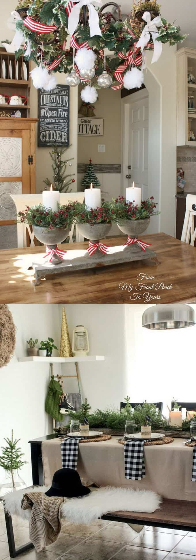 ideas for decorating my living room christmas complete set 100 favorite every in your home look ways to add festive decorations not just on a kitchen table but also above and around the via from front porch yours
