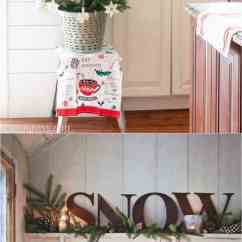 Decorating Kitchen Design Center 100 Favorite Christmas Ideas For Every Room In Your Home How To Decorate Cabinets And Shelves