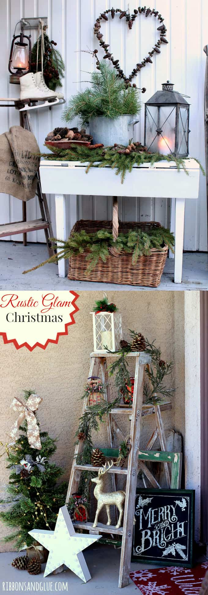 Christmas Decorated Front Doors