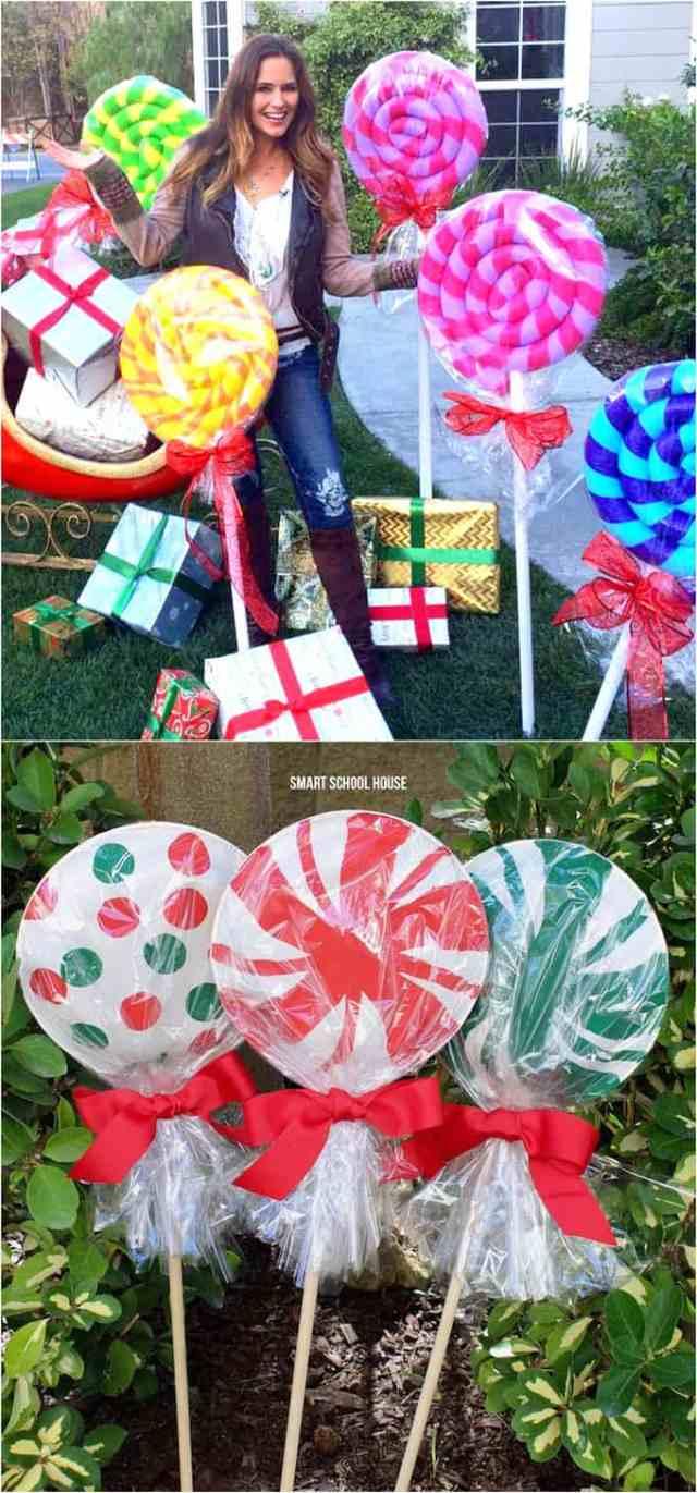 30 outdoor christmas decorations ideas DIY apieceofrainbow 15