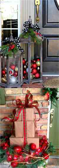 Gorgeous Outdoor Christmas Decorations: 32 Best Ideas ...