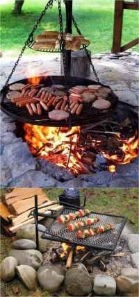 Diy Outdoor Bbq Fire Pit - DIY Design Ideas