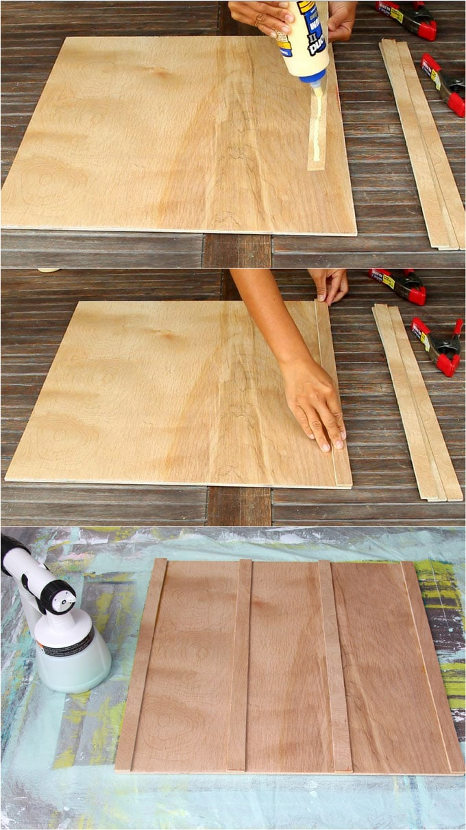 medium resolution of we love using purbond plywood for our home and garden projects we used it here in our diy wood bed frame with headboard it s a high quality