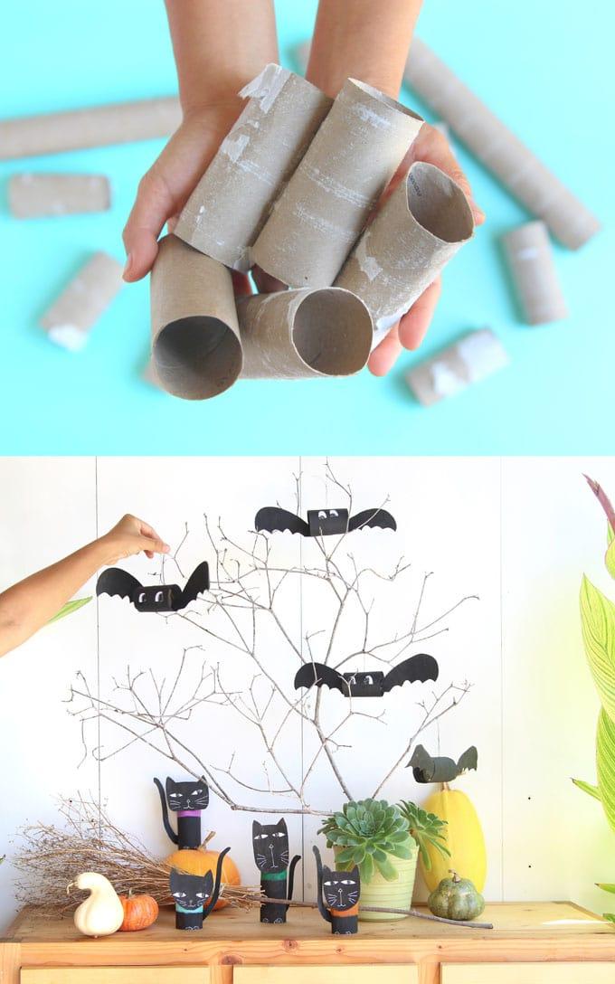 Magical DIY Halloween Bats 5 Minute Craft A Piece Of