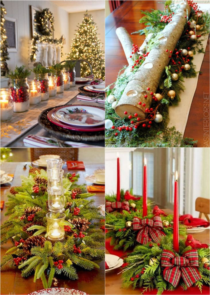 27 gorgeous christmas table decorations